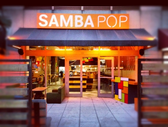 Sushi Samba's, pop up restaurant, Samba Pop, in Midtown Miami