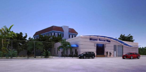 Miami Rescue Mission, architectural rendering