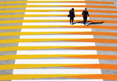 Cruz Diez Crosswalk