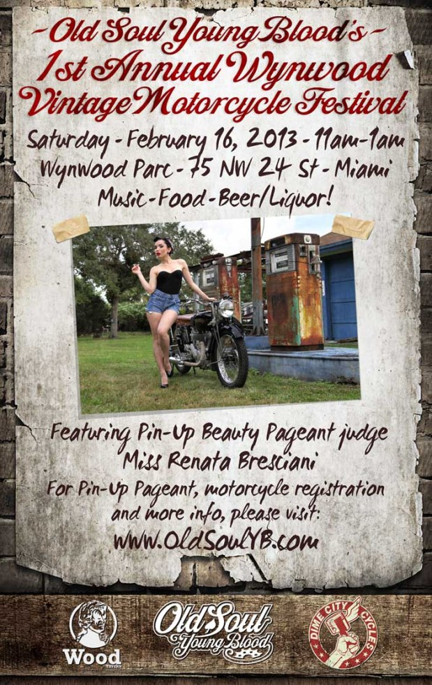 Pin Up Beauty Pageant & Vintage Motorcycle Festival