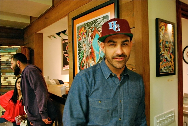 Chris Nunez, owner of Handcrafted