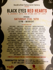 Black Eyes Red Hearts