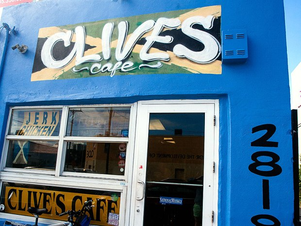 Clive's Cafe in Wynwood