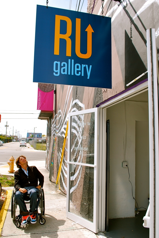 David McCauley Aims To Cure Paralysis Through Art In Wynwood | The