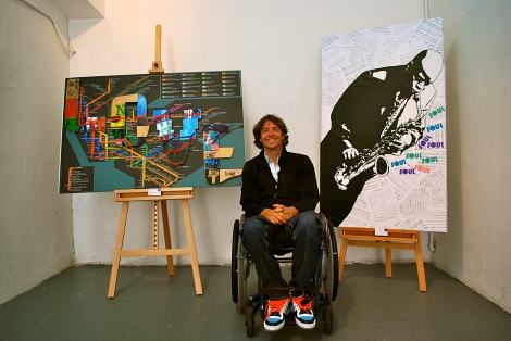 David McCauley Aims To Cure Paralysis Through Art In Wynwood