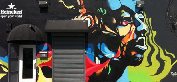 Trek6 Heineken Mural Project, Wynwood